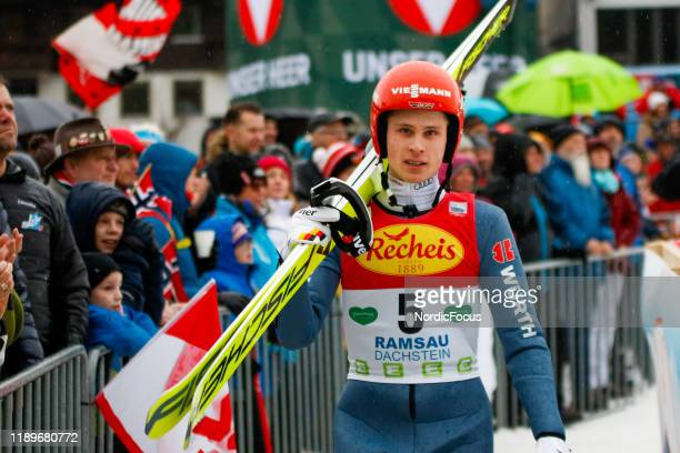 David Mach competes in the FIS Nordic Combined World Cup, Individual Gundersen , on December 21, 2019 in Ramsau am Dachstein, Austria.