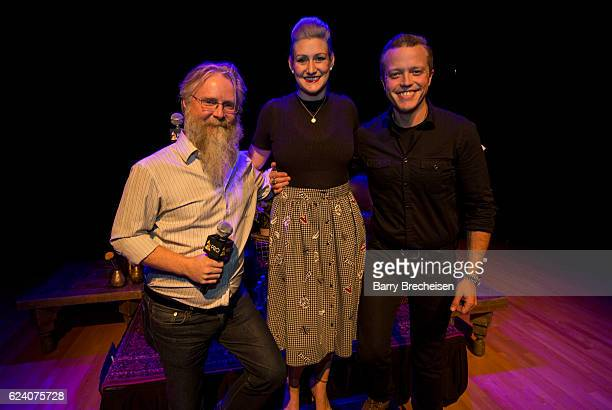 David Macias Sarah Jansen and musician Jason Isbell during the GRAMMY Up Close Personal with Jason Isbell and David Macias at Old Town School of Folk...