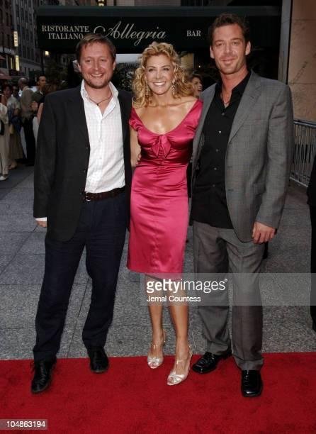 David Mackenzie, director, Natasha Richardson and Marton Csokas