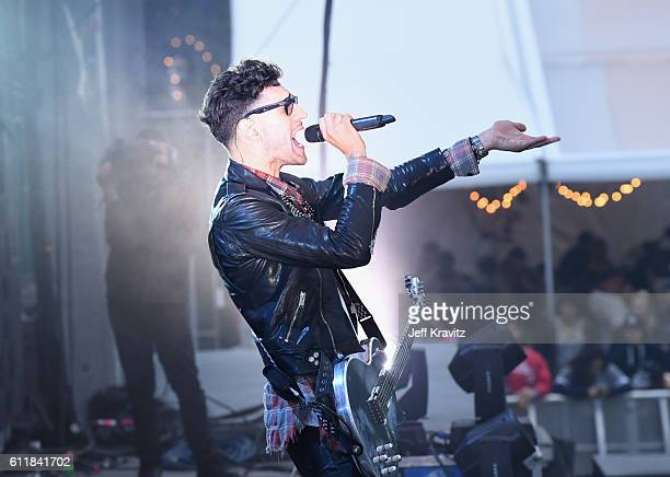David Macklovitch of Chromeo performs onstage during The Meadows Music Arts Festival Day 1 on October 1 2016 in Queens New York