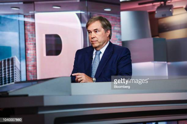 David MacLennan chief executive officer of Cargill Inc speaks during a Bloomberg Television interview in New York US on Tuesday Sept 25 2018...