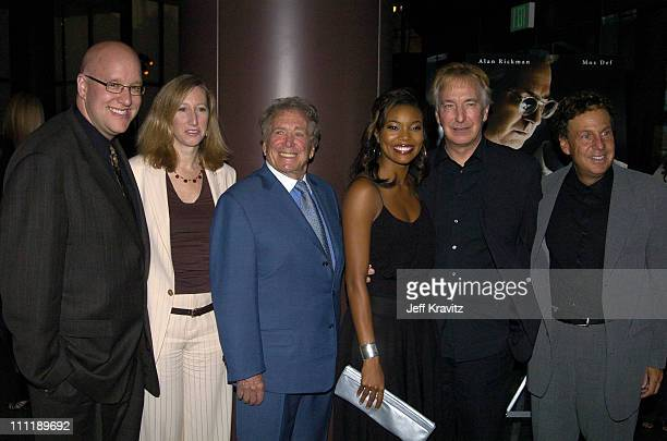 David Madden Exec Producer Joseph Sargent Director Gabrielle Union Alan Rickman and Robert Cort Exec Producer