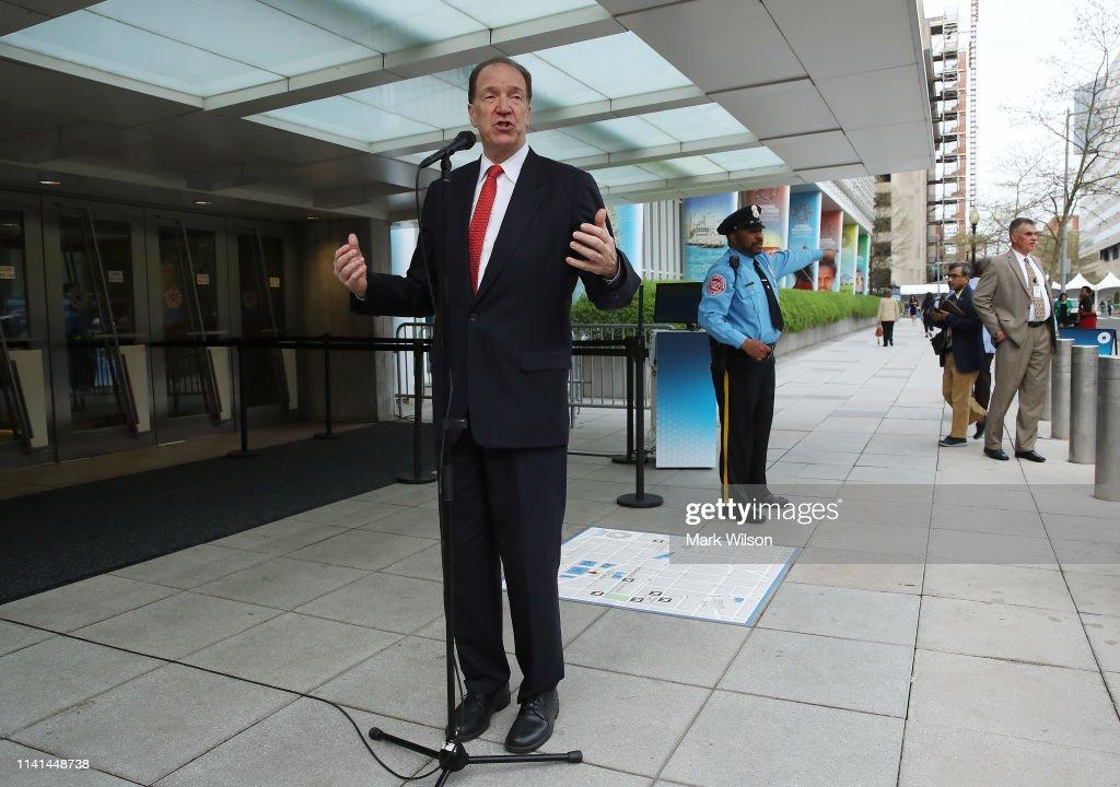 David Malpass Begins First Day As New World Bank Group President : News Photo