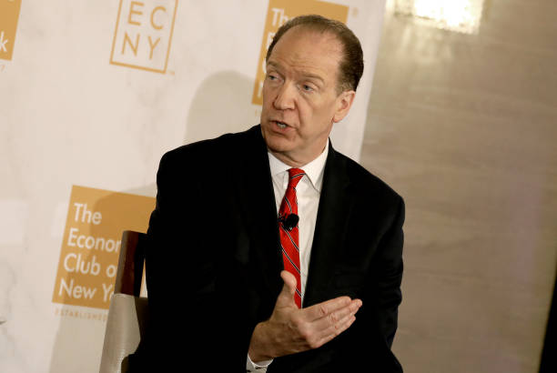 NY: World Bank Group President David Malpass Speaks At The Economic Club Of New York