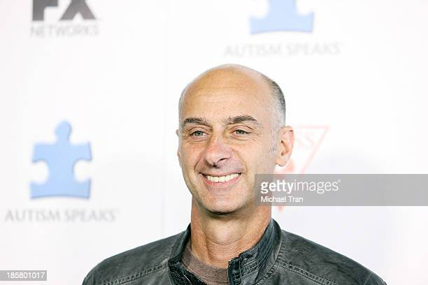 David Marciano arrives at the 3rd Annual 'Blue Jean Ball' held at Boulevard3 on October 24 2013 in Hollywood California
