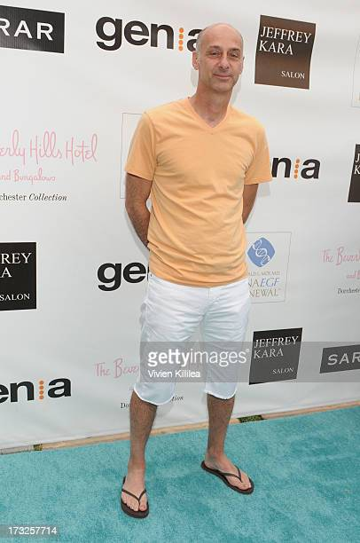 David Marciano attends GenA And Michael Hogg Presents The Summer Soiree Of Season And The Agenostic Man Book Launch at Beverly Hills Hotel on July 10...