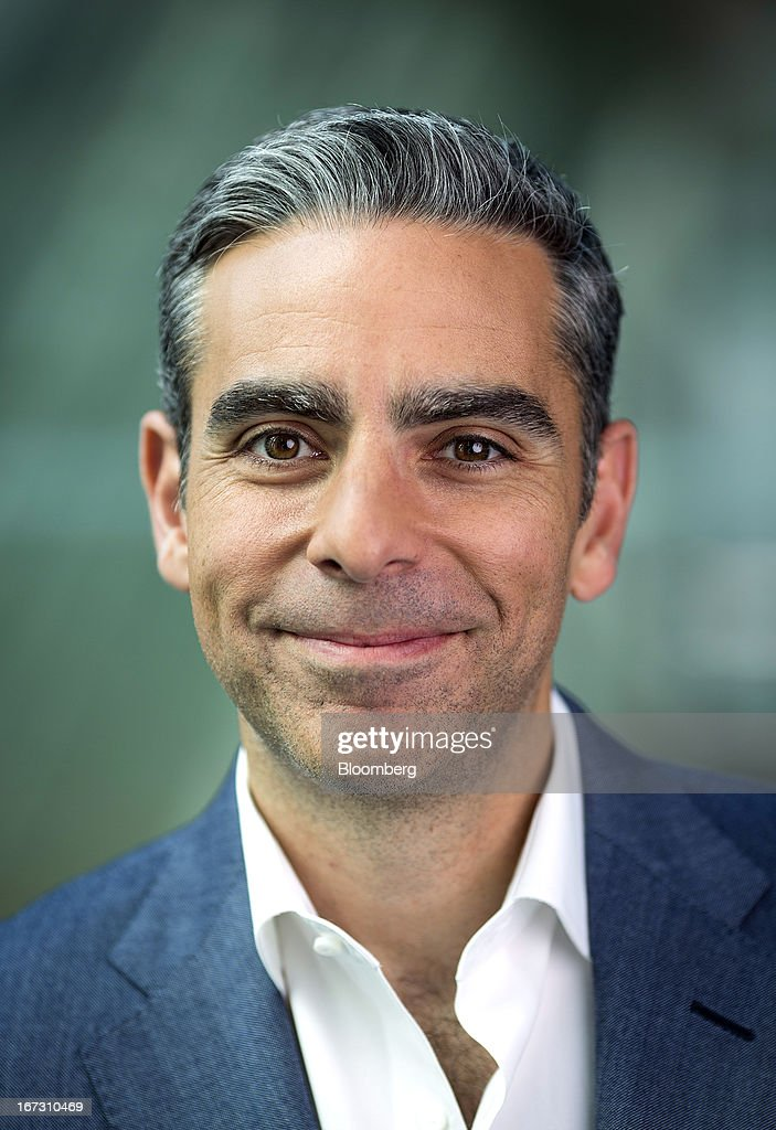 David Marcus, president of PayPal, a unit of EBay Inc., poses for a photograph following a Bloomberg Television interview in London, U.K., on Wednesday, April 24, 2013. EBay, based in San Jose, California, is expecting payment volume at PayPal to double in the next three years as people increasingly shop and pay for goods on mobile devices. Photographer: Simon Dawson/Bloomberg via Getty Images