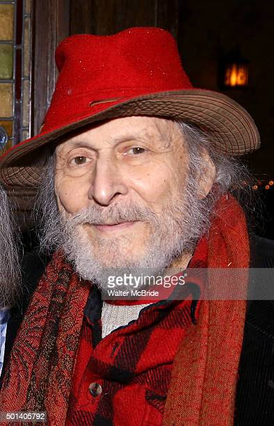 David Margulies attends the opening night after party for the Playwrights Horizons New York premiere production of 'Marjorie Prime' at Tir Na Nog...