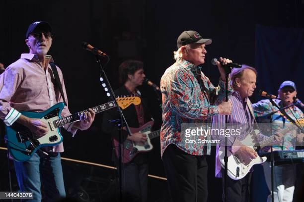 David Marks Mike Love and Al Jardine performs at the Beacon Theatre on May 8 2012 in New York City