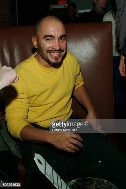 David Marrero attends MAO MAG Fashion Week Launch Party at Sol on February 2 2006 in New York City