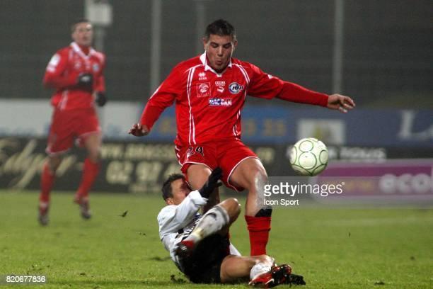 David MARTOT / Andy DELORT Vannes / Nimes 20eme journee de Ligue2