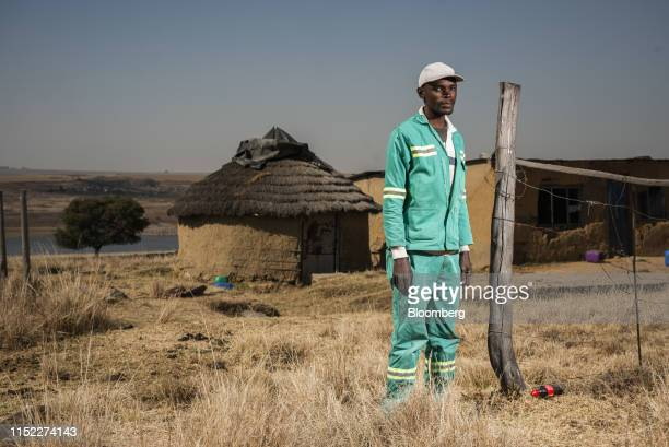 David Mashilwane, local resident, poses for a photograph in the town of Pullen's Hope in Mpumalanga, South Africa, on Wednesday, June 12, 2019. Air...