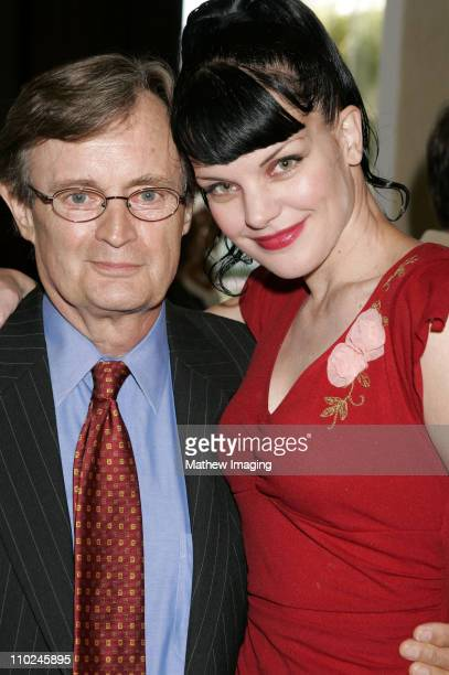 David McCallum and Pauley Perrette during The 23rd Annual Golden Boot Awards at Beverly Hilton Hotel in Beverly Hills California United States