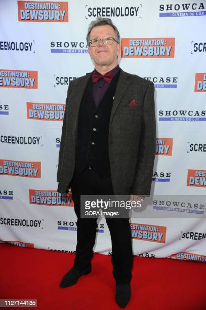 David McCelland seen during the Destination Dewsbury UK premiere A premiere of a new British comedy about five friends who reunite for one last road...