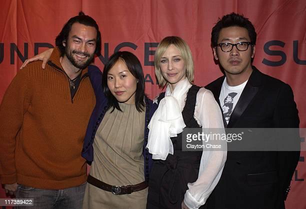 David McInnis, Gina Kim, Vera Farmiga and Jung-Woo Ha