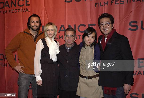 David McInnis, Vera Farmiga, Andrew Fierber, Gina Kim and Jung-Woo Ha