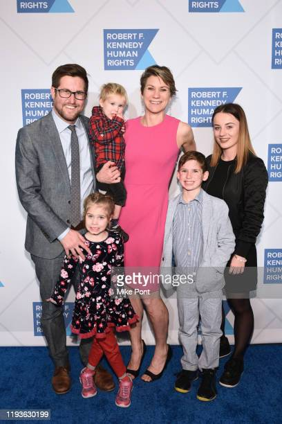 David McKean Maeve Kennedy Townsend Mckean and family attend the Robert F Kennedy Human Rights Hosts 2019 Ripple Of Hope Gala Auction In NYC on...