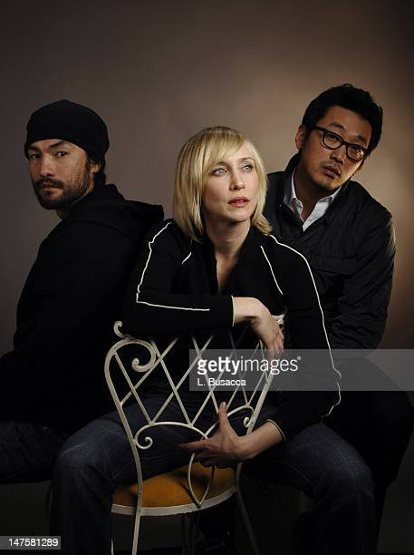 "David McKinnis, Vera Farmiga and Jung Woo Ha - Cast of ""Never Forever"" *EXCLUSIVE*"