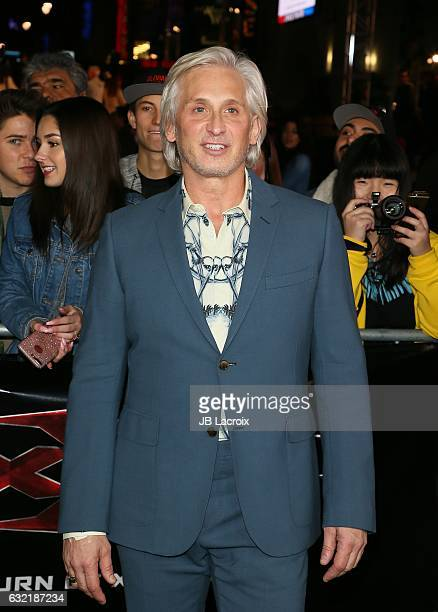 David Meister attends the premiere of Paramount Pictures' 'xXx Return Of Xander Cage' on January 19 2017 in Los Angeles California