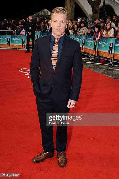David Menkin arrives for the UK premiere of A Hologram For The King at BFI Southbank on April 25 2016 in London England