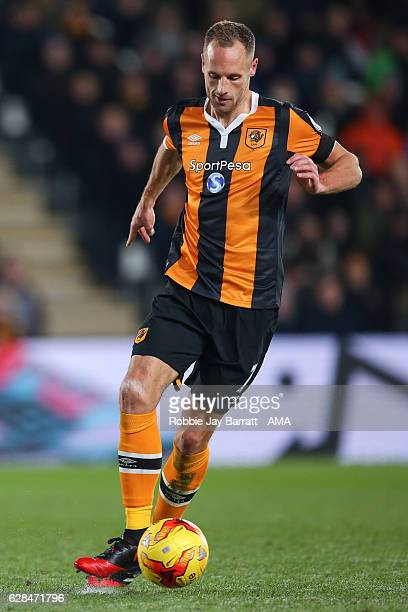 David Meyler of Hull City during the EFL Cup QuarterFinal match between Hull City and Newcastle United at KCOM Stadium on November 29 2016 in Hull...
