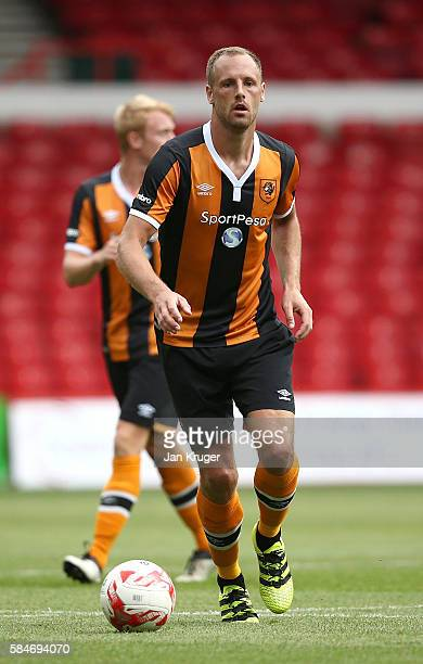 David Meyler of Hull City during the preseason friendly match between Nottingham Forest and Hull City at City Ground on July 30 2016 in Nottingham...
