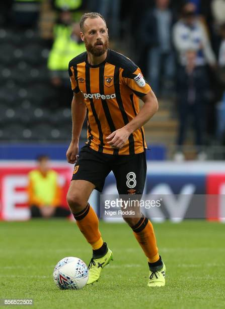 David Meyler of Hull City during the Sky Bet Championship match between Hull City and Birmingham City at KCOM Stadium on September 30 2017 in Hull...