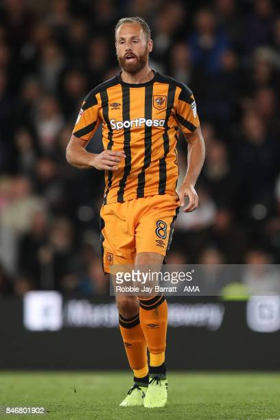 David Meyler of Hull City during the Sky Bet Championship match between Derby County and Hull City at iPro Stadium on September 8 2017 in Derby...
