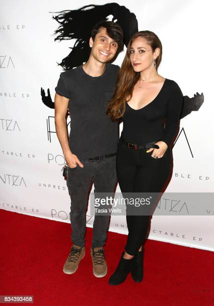 David Michael Frank and Pontea at the Pontea EP Release Party at The Federal on August 17 2017 in North Hollywood California