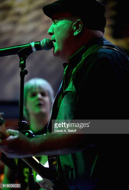 David Middleton of Waxing Poetics performs during the Veer music Awards at Waterside District on February 13 2018 in Norfolk Virginia