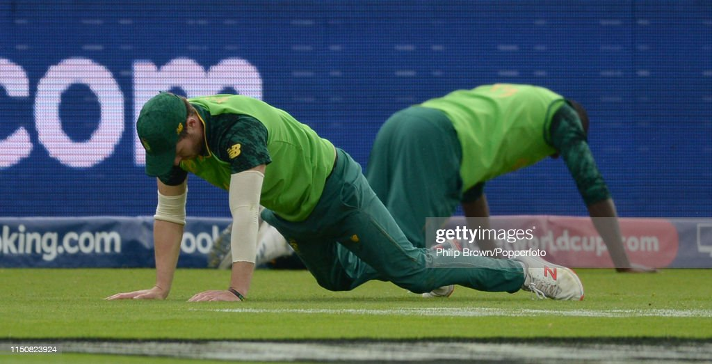New Zealand v South Africa - ICC Cricket World Cup 2019 : News Photo