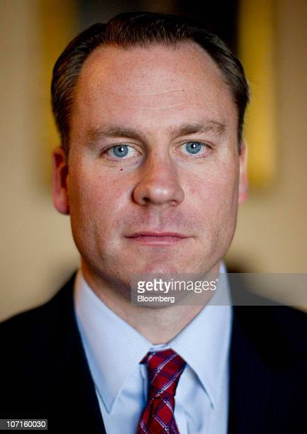 David Miller chief investment officer at the US Treasury Department's Office of Financial Stability poses for a portrait at the Treasury building in...