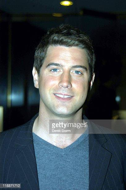 """David Miller of Il Divo during Simon Cowell and Il Divo Visit the """"Today"""" Show - April 18, 2005 at The """"Today"""" Show Studio in New York City, New..."""