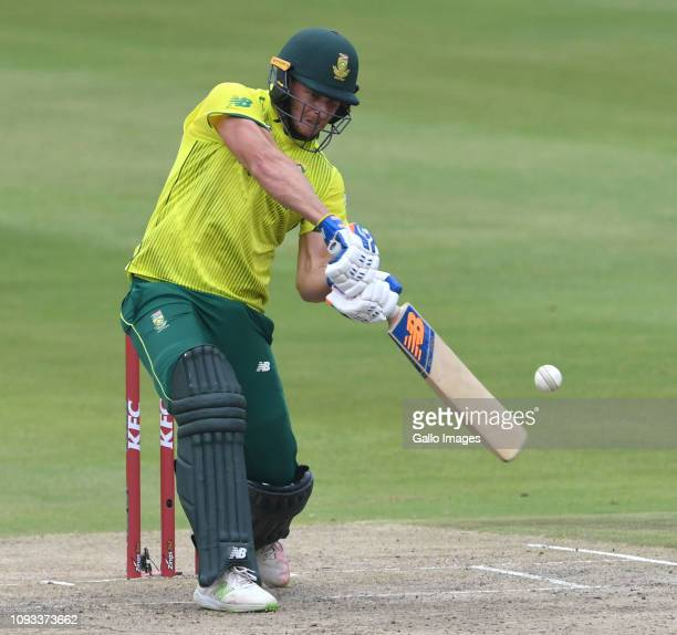 David Miller of South Africa during the 2nd KFC T20 International match between South Africa and Pakistan at Bidvest Wanderers Stadium on February...