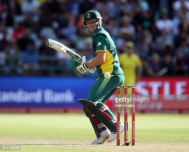 David Miller of the Proteas during the Momentum ODI Series 5th ODI match between South Africa and Australia at PPC Newlands on October 12 2016 in...