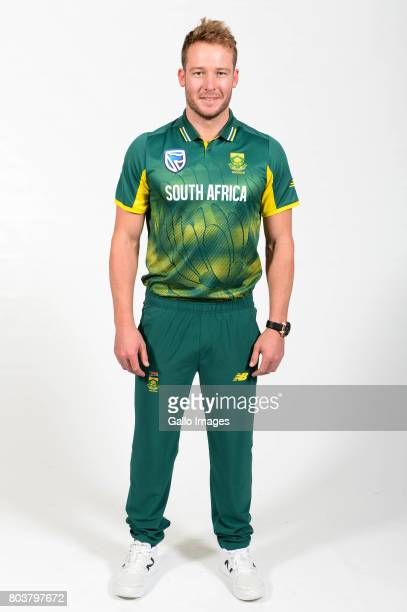 David Miller of the Proteas during the Proteas portrait shoot on May 13 2017 in Johannesburg South Africa
