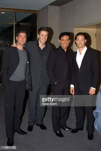 David Miller, Sebastian Izambard, Carlos Marin and Urs Buhler of Il Divo