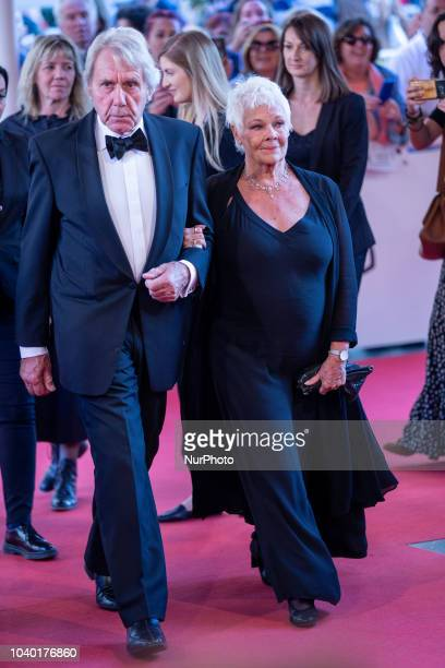 Actress Judi Dench attends 'Red Joan' premiere during the 66th San Sebastian International Film Festival at Kursaal Palace on September 25 2018 in...