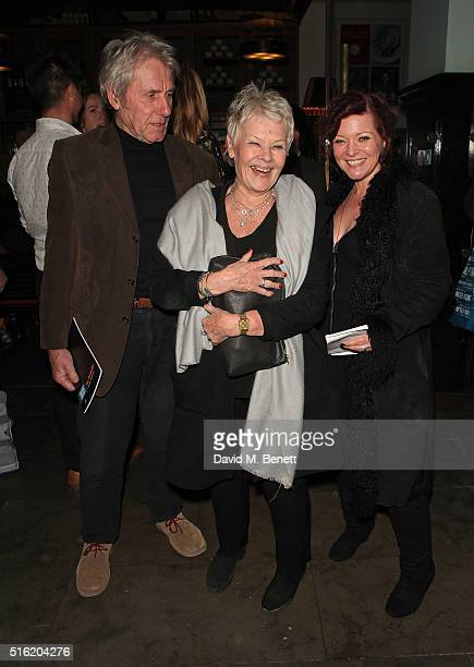 David Mills Dame Judi Dench and Finty Williams attend the press night after party for the Kenneth Branagh Theatre Company's production of 'The...