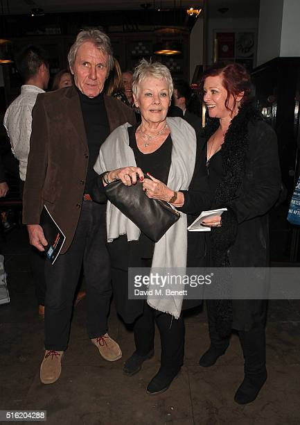David Mills Dame Judi Dench and Finty Williams attend the press night after party for the Kenneth Branagh Theatre Company's production of The...
