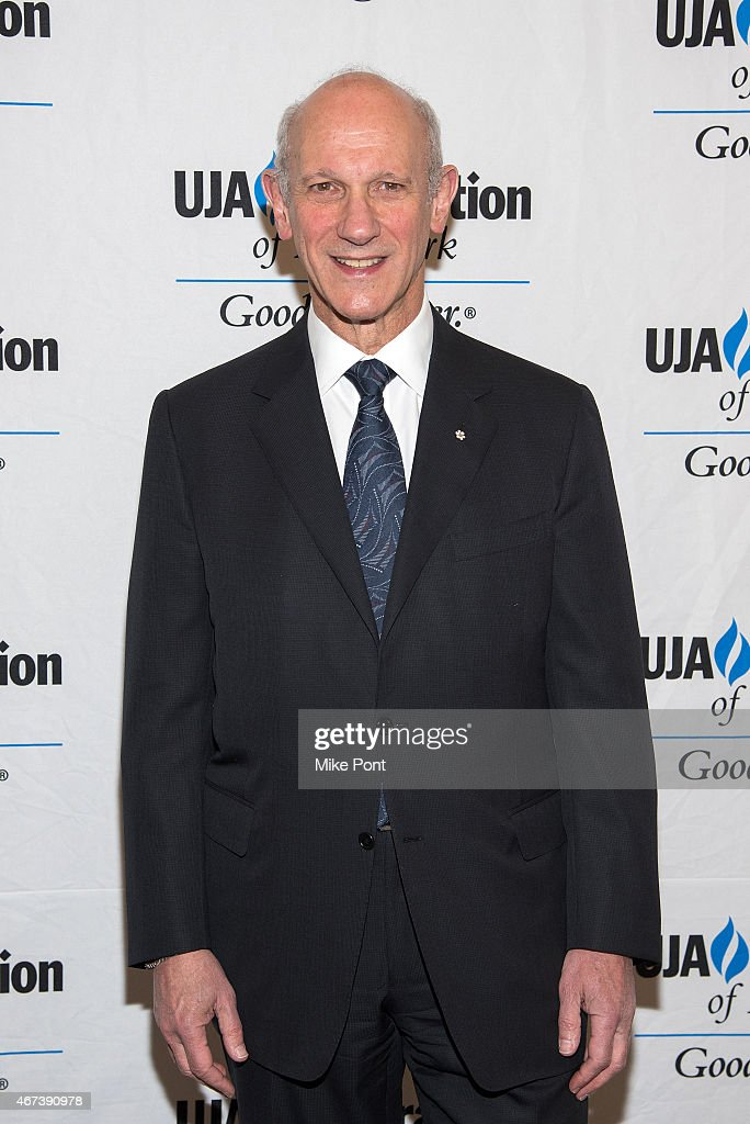 David Mirvish attends the 2015 UJA Federation Of New York Excellence In Theater Award Dinner at The St Regis New York on March 23, 2015 in New York City.
