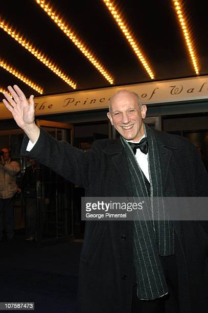 David Mirvish during The Lord of the Rings on stage World Premiere in Toronto March 23 2006 at Princess of Wales Theatre in Toronto Ontario Canada