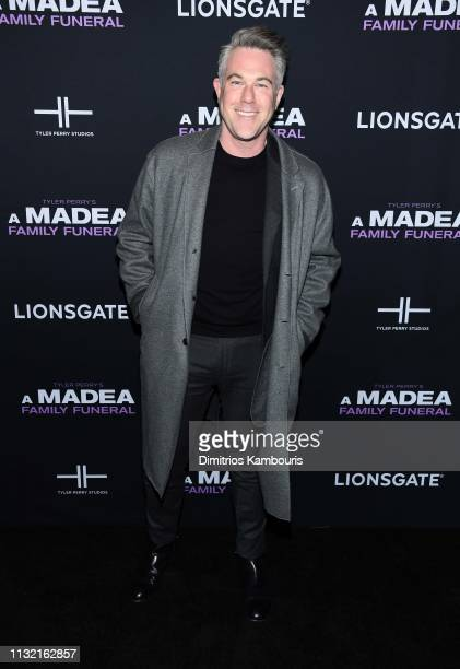 David Miskin attends a screening for Tyler Perry's A Madea Family Funeral at SVA Theater on February 25 2019 in New York City