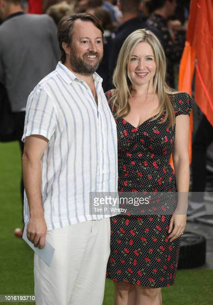 David Mitchell and Victoria Coren Mitchell attend The Festival world premiere at Cineworld Leicester Square on August 13 2018 in London England