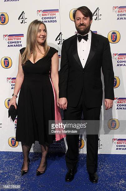 David Mitchell And Wife Victoria Coren Attend The British Comedy Awards At Fountain Studios On December