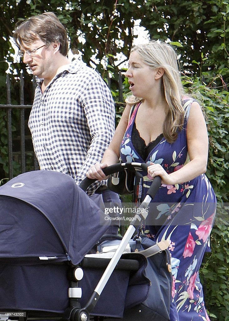David Mitchell And Wife Victoria Coren Taking A Stroll On September 12 2017 In