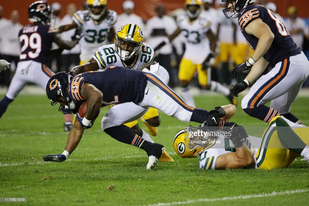 Green Bay Packers vChicago Bears : Nachrichtenfoto