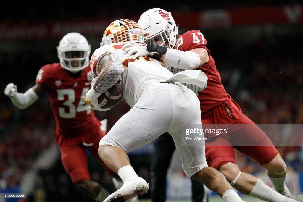 Valero Alamo Bowl - Iowa State v Washington State : News Photo