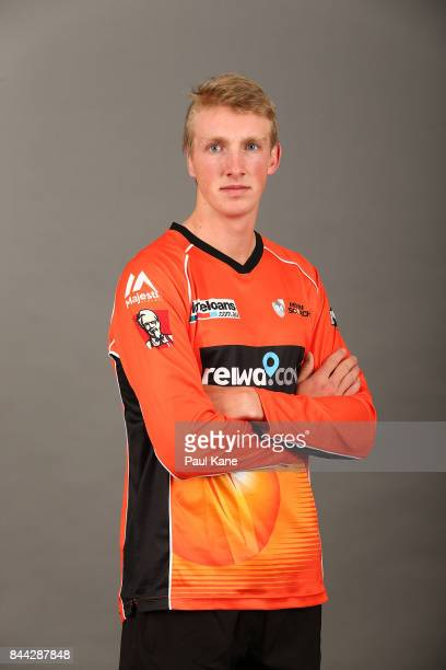 David Moody poses during the Western Australia headshots session at WACA on September 19 2016 in Perth Australia