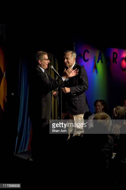 David Moore and Carl Icahn at David Moore's 'Funny Business Show' at the 2nd Annual NY Comedy Festival at Caroline's on Broadway NYC